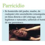 Causas de parricidios